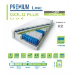 Vzmetnica Premium line - GOLD plus latex 4 - 80X200 cm