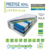 Vzmetnica PRESTIGE Royal LATEX plus - 80x200 cm