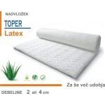 Nadvložek - toper - Latex  - 80x200 cm
